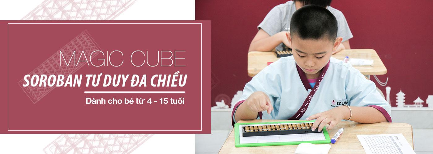 Magic Cube - Soroban Tư Duy Đa Chiều là môn Toán Bàn Tính giúp phát triển tư duy và cải thiện tập trung hiệu quả dành cho bé từ 4 tuổi được nhiều ba mẹ Việt Nam tin tưởng